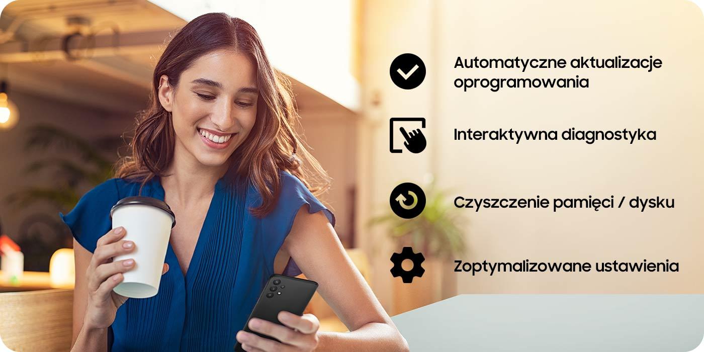 Usługi dostępne w Samsung Members