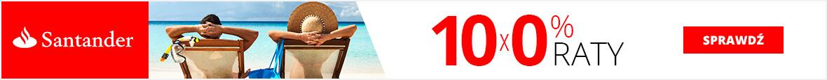 Santander Consumer Bank, raty 10x0%