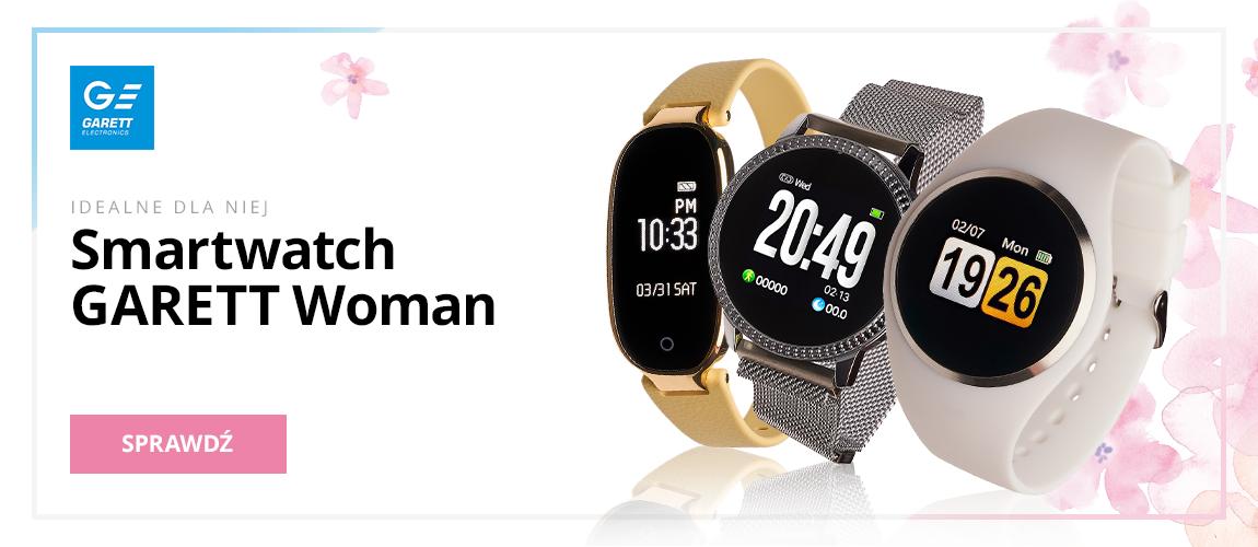 Idealne dla niej Smartwatch Garett Woman
