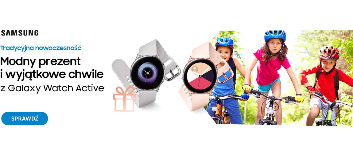 Modny prezent i wyjątkowe chwile z Galaxy Watch Active