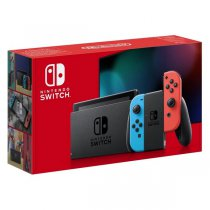 Konsola NINTENDO Switch Red & Blue Joy-Con - NOWY MODEL HAC-001(-01)