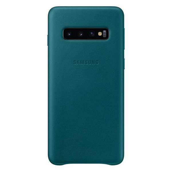 Etui SAMSUNG Leather Cover do Galaxy S10 zielone