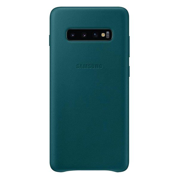 Etui SAMSUNG Leather Cover do Galaxy S10+ zielone