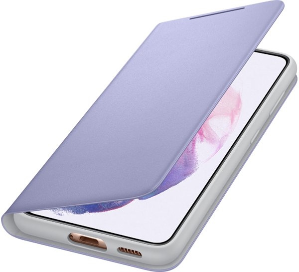 Etui SAMSUNG Smart LED View Cover do Galaxy S21 fioletowe