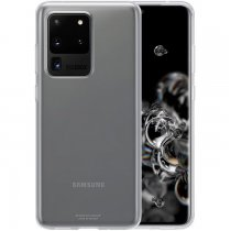Etui Samsung Galaxy S20+ Clear Cover Czarne