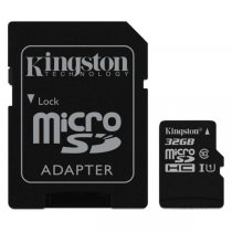 Karta pamięci KINGSTON MicroSDHC 32 GB + Adapter