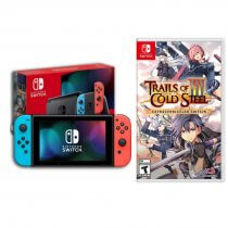 Konsola NINTENDO Switch Red & Blue Joy-Con + Gra The Legend of Heroes:Trails of Cold St. III