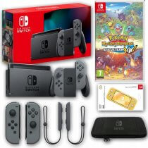 Konsola Nintendo Switch Grey 2019 + Pokemon Mystery Dungeon + Akcesoria