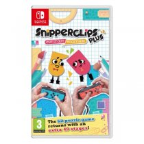 Gra NINTENDO Switch Snipperclips Plus: Cut it out, together ! NSS658