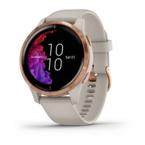Zegarek Garmin Venu Rose Gold - Light Sand