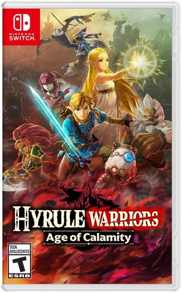 Gra NINTENDO Switch Hyrule Warriors: Age of Calamity NSS302