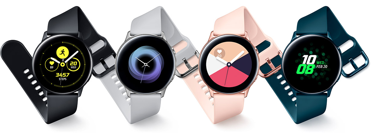 Galaxy Watch Active logo