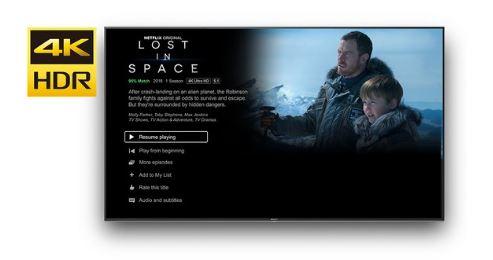 Netflix w jakości 4K HDR