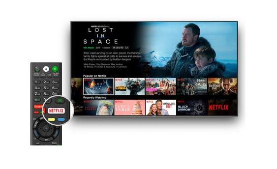 Przycisk Netflix