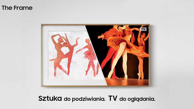 Wystrój Mieszkanie Ramki Obraz Przedstawienie Telewizor Sztuka Taniec Ściana