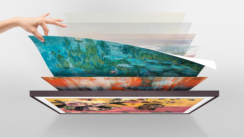 Obrazy Światowej Sławy Artystów w Twoim Domu Internet Sklep Telewizor Galeria Sztuki Możliwość Bezpłatny