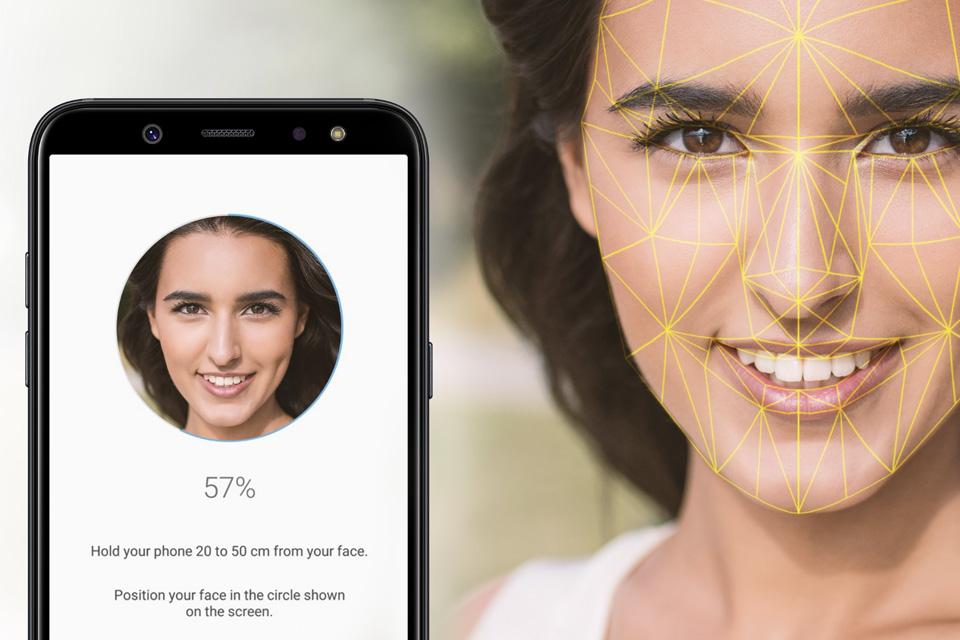 Samsung Rozpoznawanie twarzy
