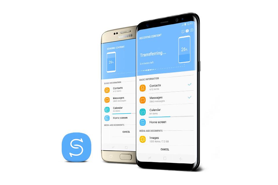 Samsung Szybko przeniesiesz pliki z aplikacją Smart Switch
