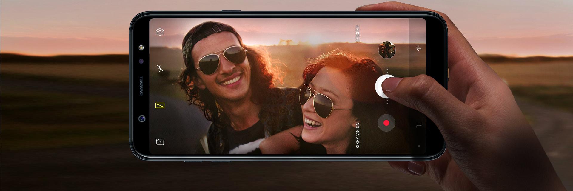 Samsung A6 Aparat Intro