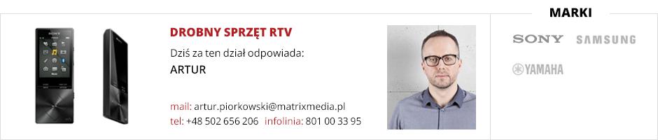 Obsługa działu drobny sprzęt RTV