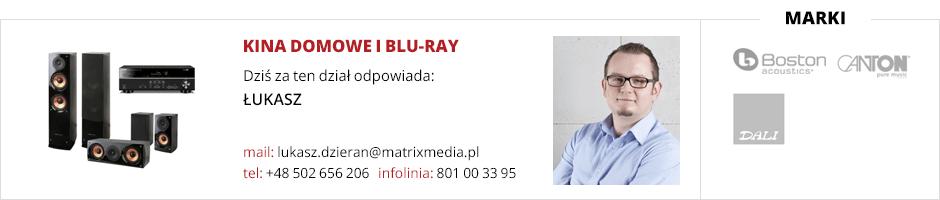 Obsługa działu kina domowe i BLU-RAY
