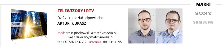 Obsługa działu telewizory i RTV