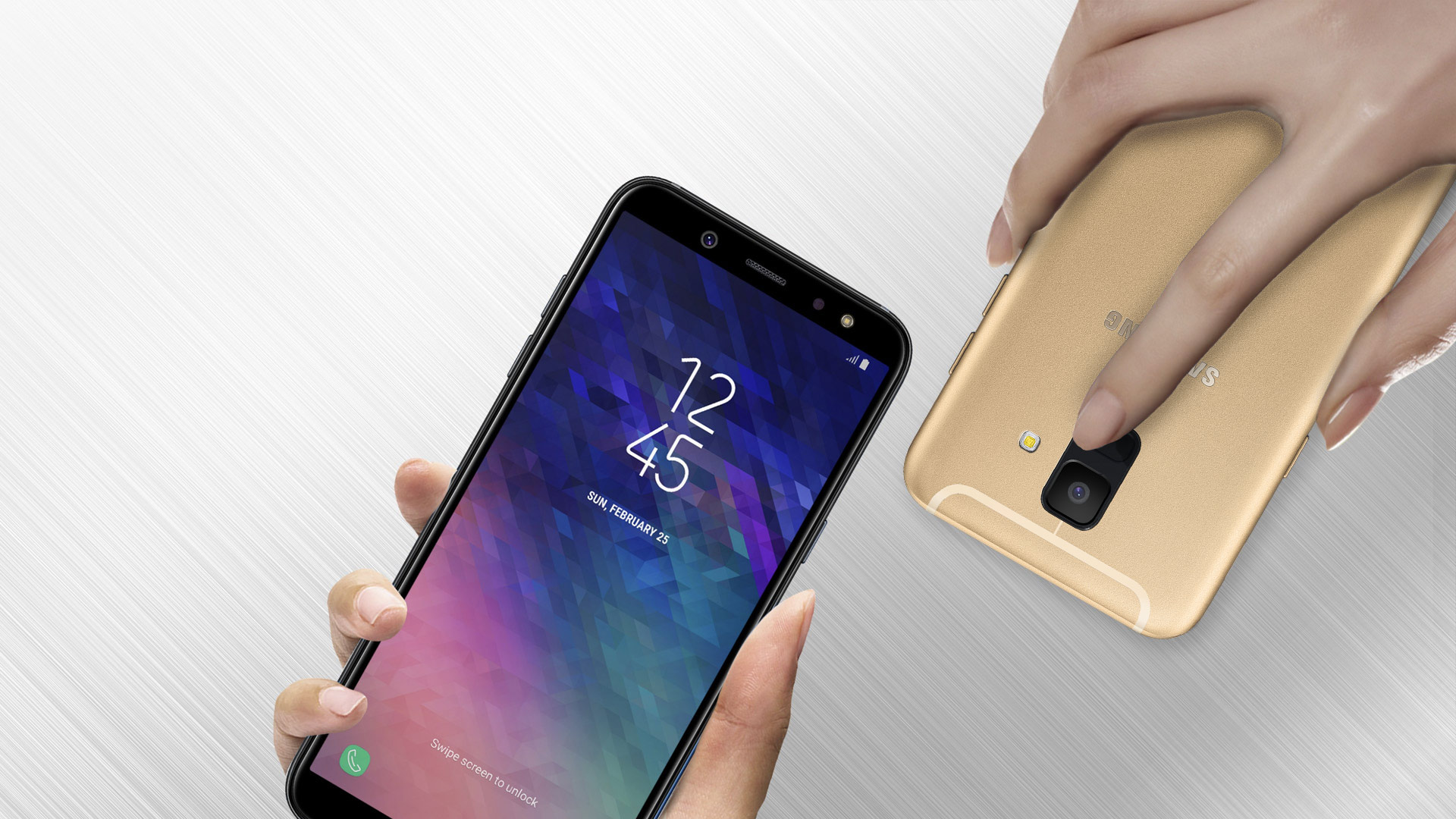 Samsung Kolaz Galaxy A6 In Hand