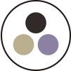 Ikona stylowe kolory