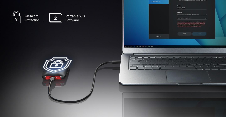 Bezpieczny dysk SSD